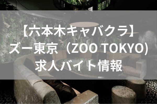 六本木ズー東京の求人情報